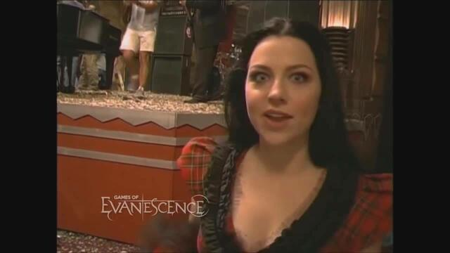 Evanescence - The Making of Call Me When Youre Sober (official music video) behind the scenes [hq]
