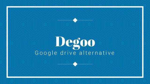 DekoTV - Degoo Google Drive Alternative   100GB Free (Web version)