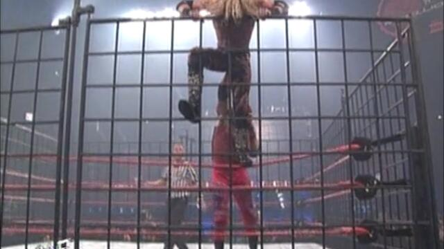 Edge vs Christian (WWF Steel Cage Match)