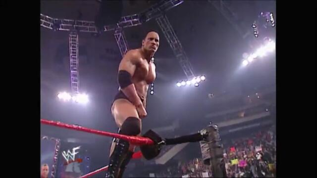 The Rock vs Chris Benoit vs Chris Jericho vs The Big Show