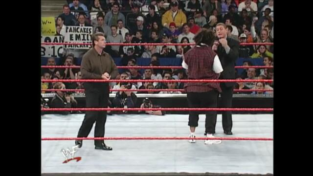 Vince McMahon,William Regal segment Al Snow