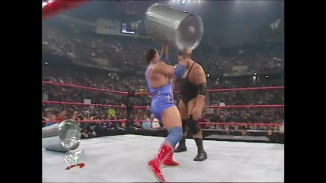 Kurt Angle & Raven vs Essa Rios & The Big Show