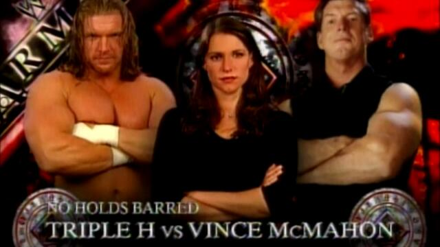 Triple H vs Mr. McMahon (No Holds Barred) 1/2 WWF 1999