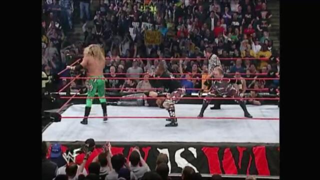 The Dudley Boyz vs Christian & Edge (WWF Tag Team Championship)