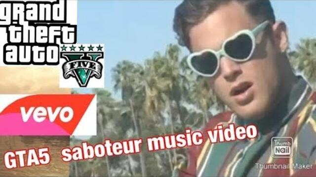Aaron Taos - Saboteur  VEVO GTA5 music video by MEATBALL...A.M.