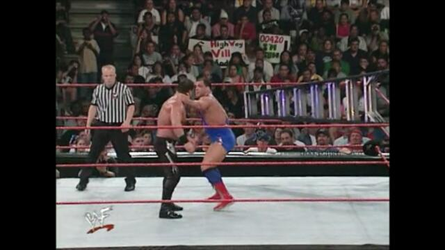 Kurt Angle vs Chris Benoit (Two-out-of-three falls match for Angle's Olympic Gold Medal)