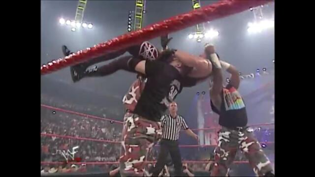 The APA vs The Dudley Boyz (WWF World Tag Team Championship)