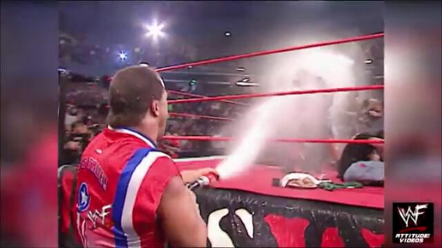 Kurt Angle bathes the Alliance of milk