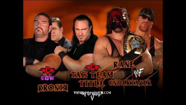 The Brothers of Destruction vs defeated KroniK (WCW Tag Team Championship)