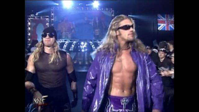 Edge and Christian vs The Dudley Boyz vs The Hardy Boyz vs X-Factor