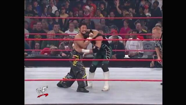 Mighty Molly & The Hurricane vs Tajiri & Torrie Wilson
