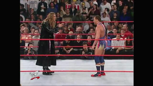 Edge vs Kurt Angle (WCW United States Heavyweight Championship)