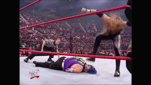 Christian vs Jeff Hardy (WWF European Championship)