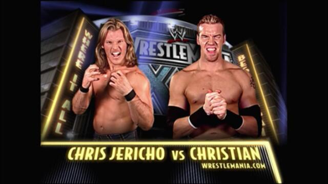 Christian vs Chris Jericho (WrestleMania XX)