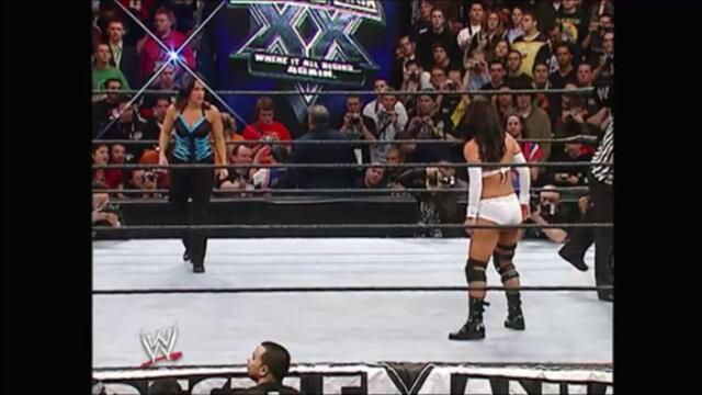 Victoria vs Molly Holly (Hair vs. Title match for the Women's Championship) (WrestleMania XX)