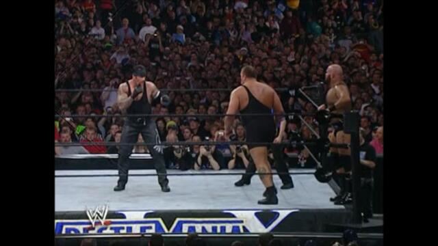 The Undertaker vs Big Show and A-Train (Handicap match WrestleMania XIX)