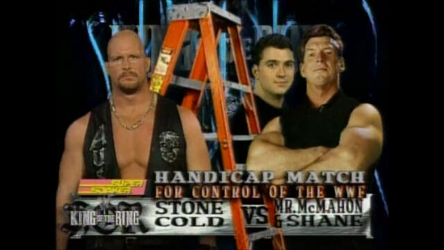 WWF: McMahon Family vs Stone Cold (Ladder match for control of the WWF)