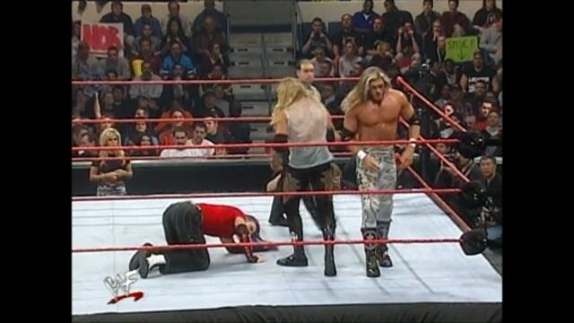 Edge and Christian vs The Hardy Boyz (WWF Tag Team Championship)