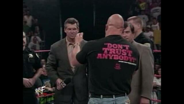 WWF Austin vs McMahon (The Whole True Story 1999) 2/3