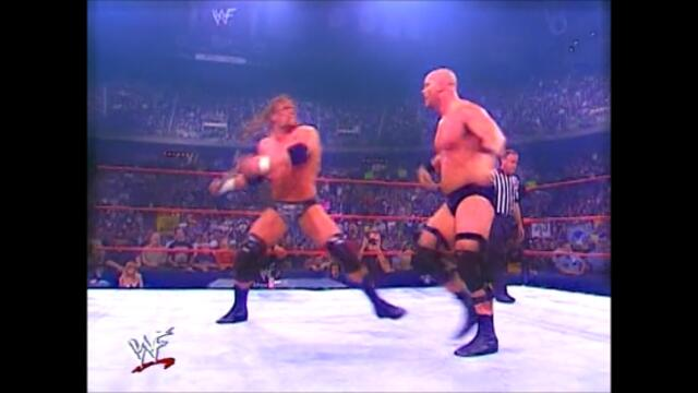 Stone Cold Steve Austin vs Triple H (No Disqualification match) Promo