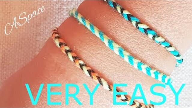 DIY: FRIENDSHIP BRACELET super easy
