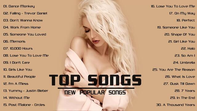 Pop Hits 2020 - Top 40 Popular Songs 2020 - Best Pop Music Collection 2020 | TOP SONGS 2020