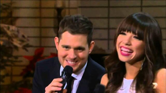 Michael Bublé Rockn' Around The Christmas Tree Jingle Bell Rock feat Carly Rae Jepsen Сut