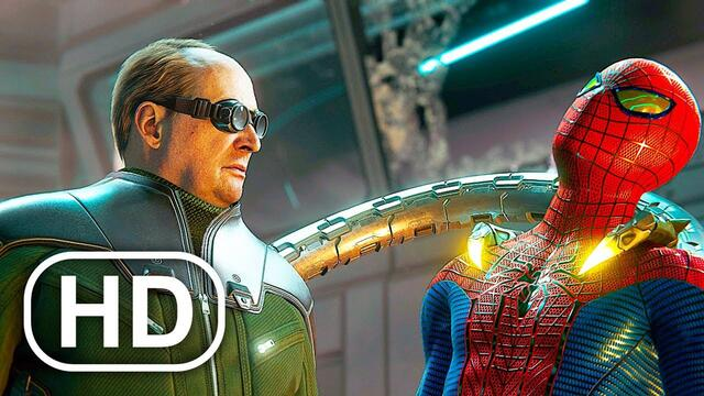The Amazing Spider-Man Vs Doctor Octopus Fight Scene 4K ULTRA HD - Spider-Man Remastered PS5