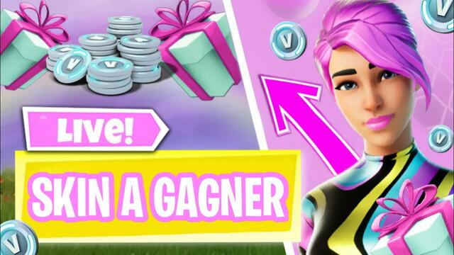 🔴LIVE PP SKIN A GAGNER !| FIGHT / 🎁 LIVE PERSO PP FORTNITE FR