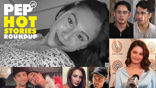 "PEP Hot Stories Roundup: Christine Dacera case, Kapamilya na si Janine, ""lambingang"" Derek-Ellen, Catriona-Sam, and more!"