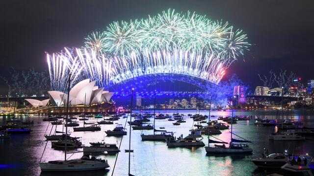 From fireworks to empty streets: 2021 New Year's Eve celebrations across the globe