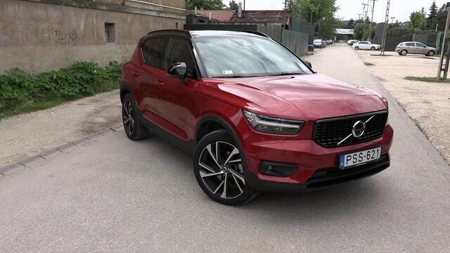 Volvo XC40 D4 R Design Intro
