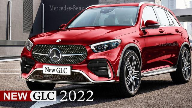 2022 Mercedes GLC X254 Redesign is Rendered Much Earlier Than SUV and Coupe Release Date