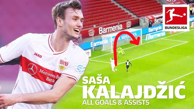 Saša Kalajdžić - All Goals And Assists So Far This Season