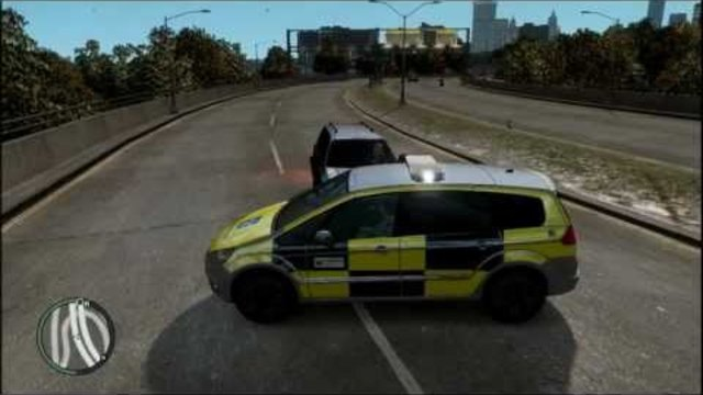 GTA IV Ford Galaxy British Highway Agency