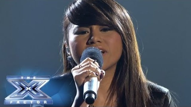 Ellona Santiago Takes On Beyoncé - THE X FACTOR USA 2013