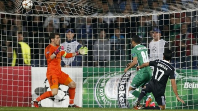 Реал (Мадрид) - Лудогорец 4:0 09.12.2014 Real Madrid - Ludogorets Шампионската лига.