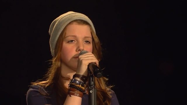 Not about angels - Birdy (Liv) - The Voice Kids - Blind Audition - SAT.1