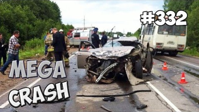 [MEGACRASH] Car Crash Compilation 2015 #332