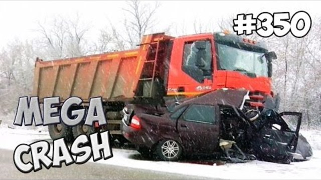 [MEGACRASH] Car Crash Compilation 2015 #350
