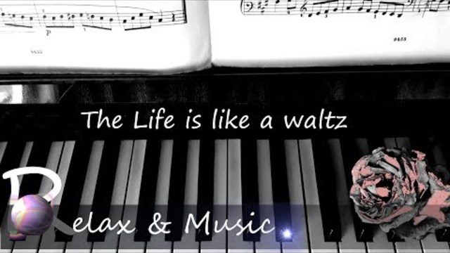 LYRICS: The life is like waltz  | Instrumental music ❤❤❤