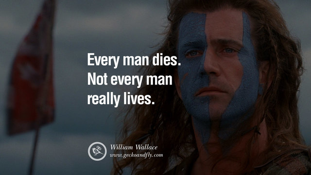 Everyone dies but not everyone lives ...