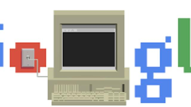 World Wide Web 30th Anniversary Google Doodle _ Berners Lee, Inventor of the WWW in 1989