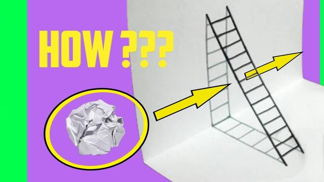 Easy 3D Drawing Illusions to Test Your Brain! by Devlin Fox