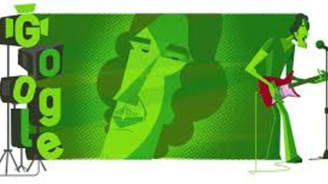 Луис Алберто Спинета Luis Alberto Spinetta Luis Alberto Spinetta's 70th Birthday  Google Doodle Today
