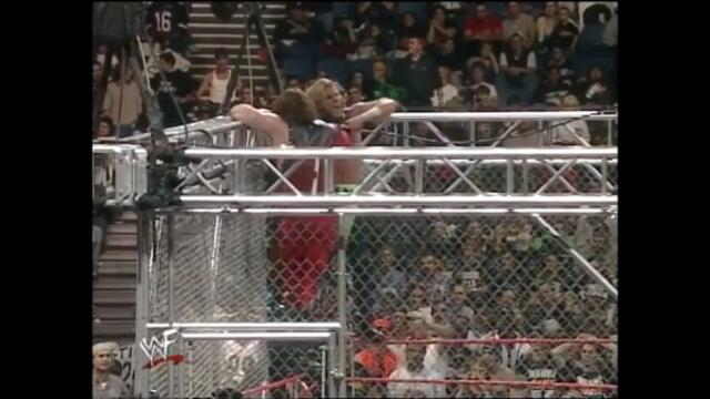 WWF 1999 Triple H vs Kane (WWF Steel Cage Match)