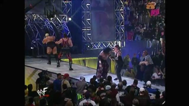 Kane & The Undertaker vs Haku & Rikishi