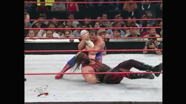 Kane vs Kurt Angle (WWF Intercontinental Championship)