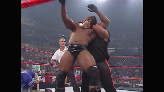 Booker T & Shane McMahon vs Tazz (Handicap Match)