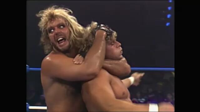 Brian Pillman and Tom Zenk vs The Freebirds (NWA United States Tag Team Championship)